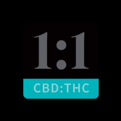 1:1 Marijuana Infused Gel