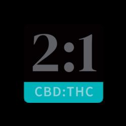 2:1 Marijuana Infused Massage Oil